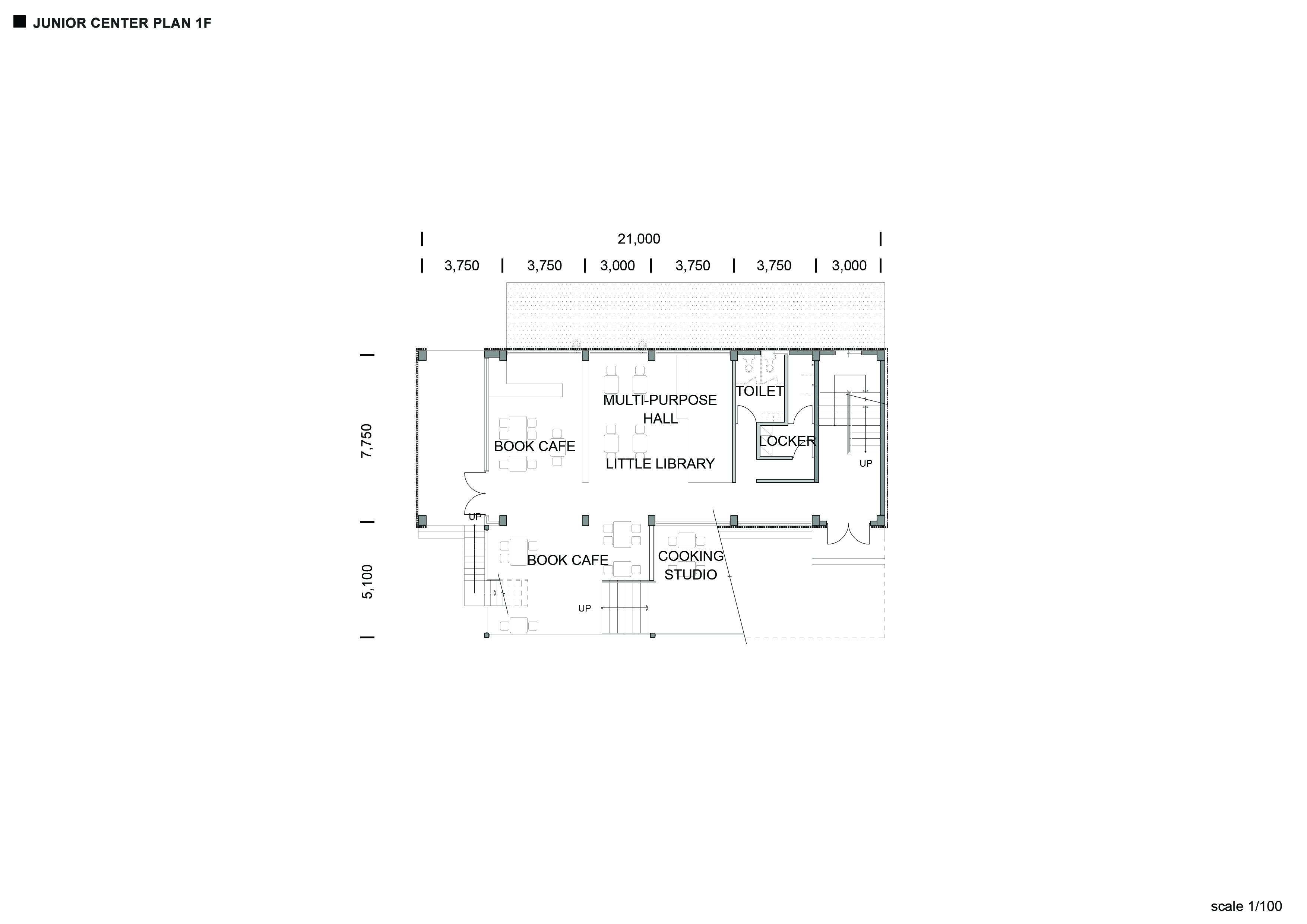 Junior Center_ Plan_ 1F