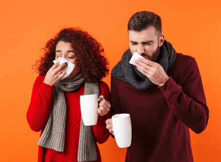Dental Tips for Treating a Cold or Flu