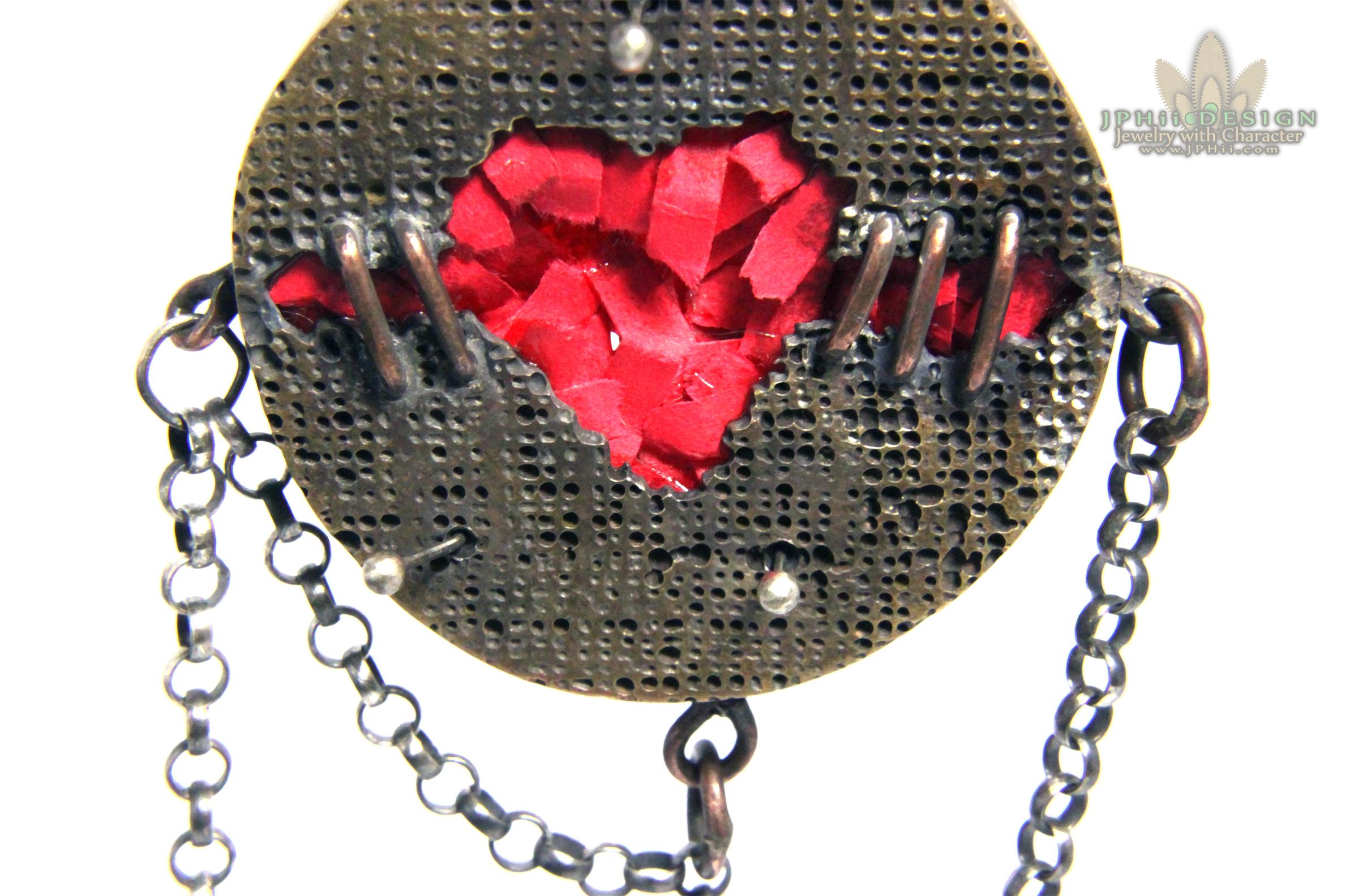 Voodoo Heart Brooch