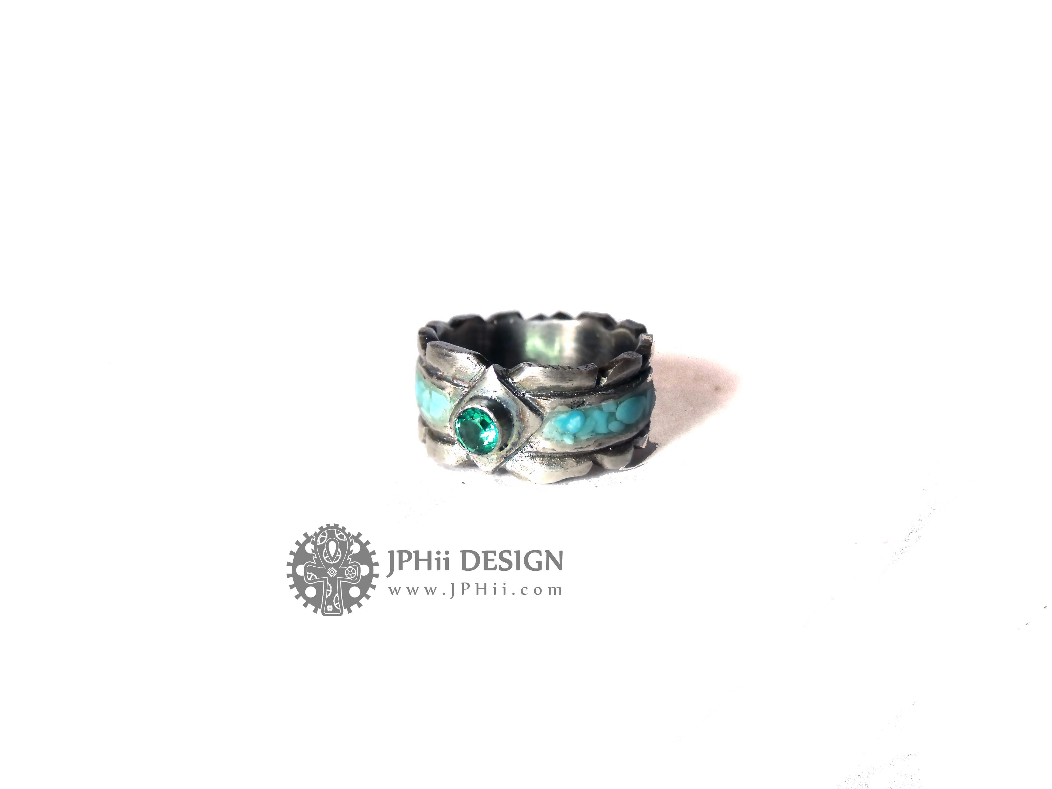 Primal Leaf Ring