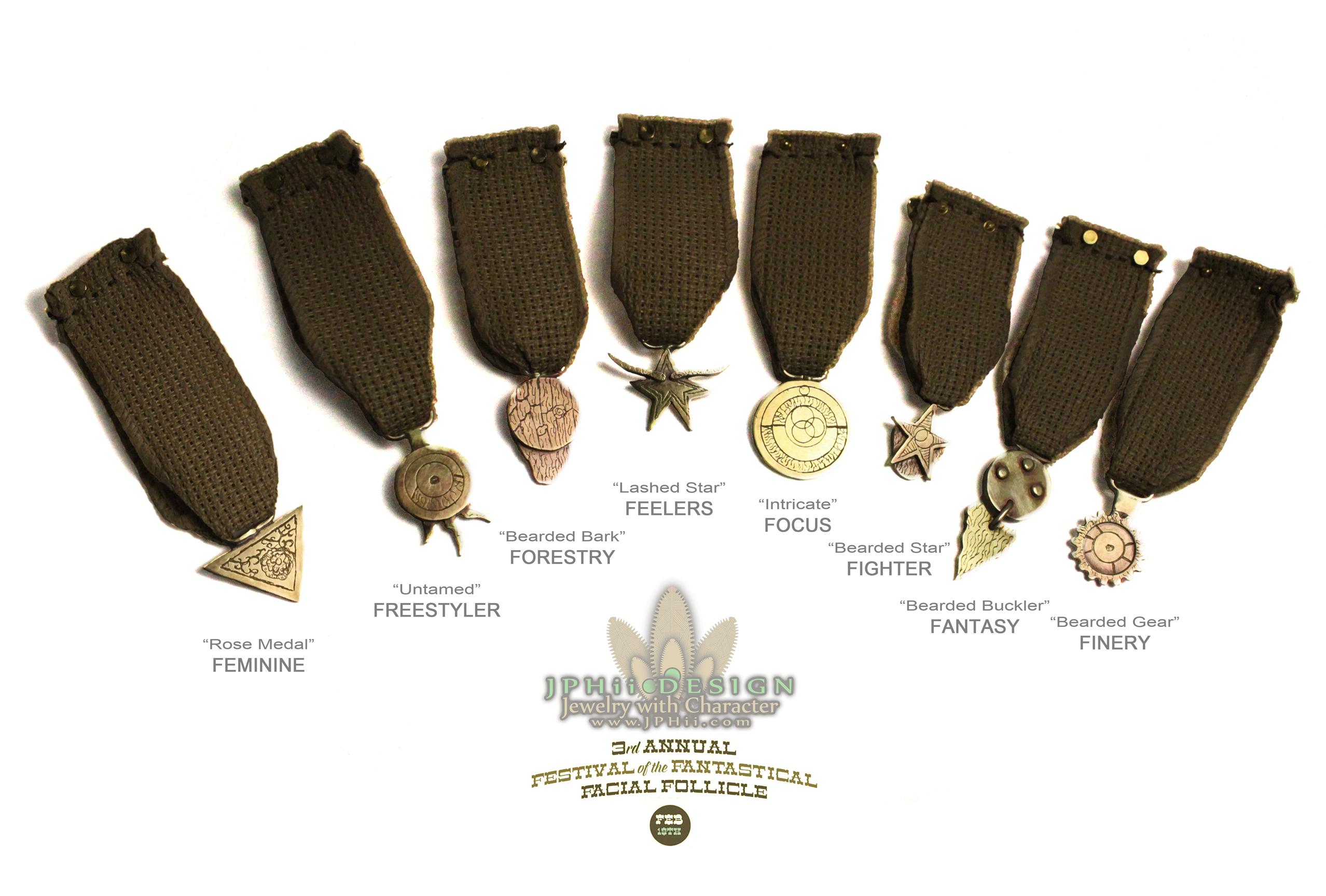 Beard Medals
