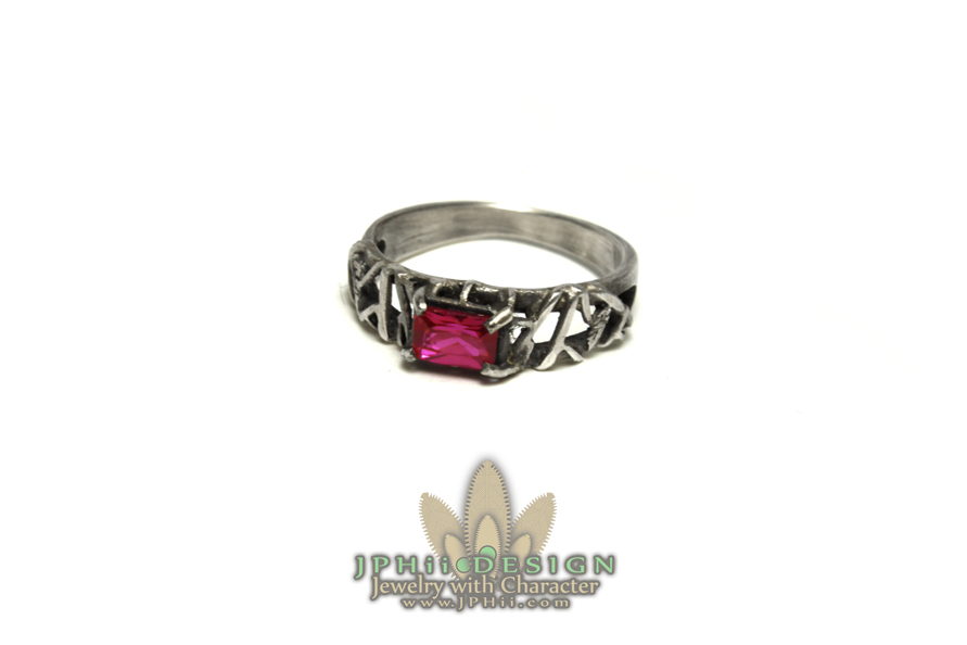 Reclaimed Blood Ring