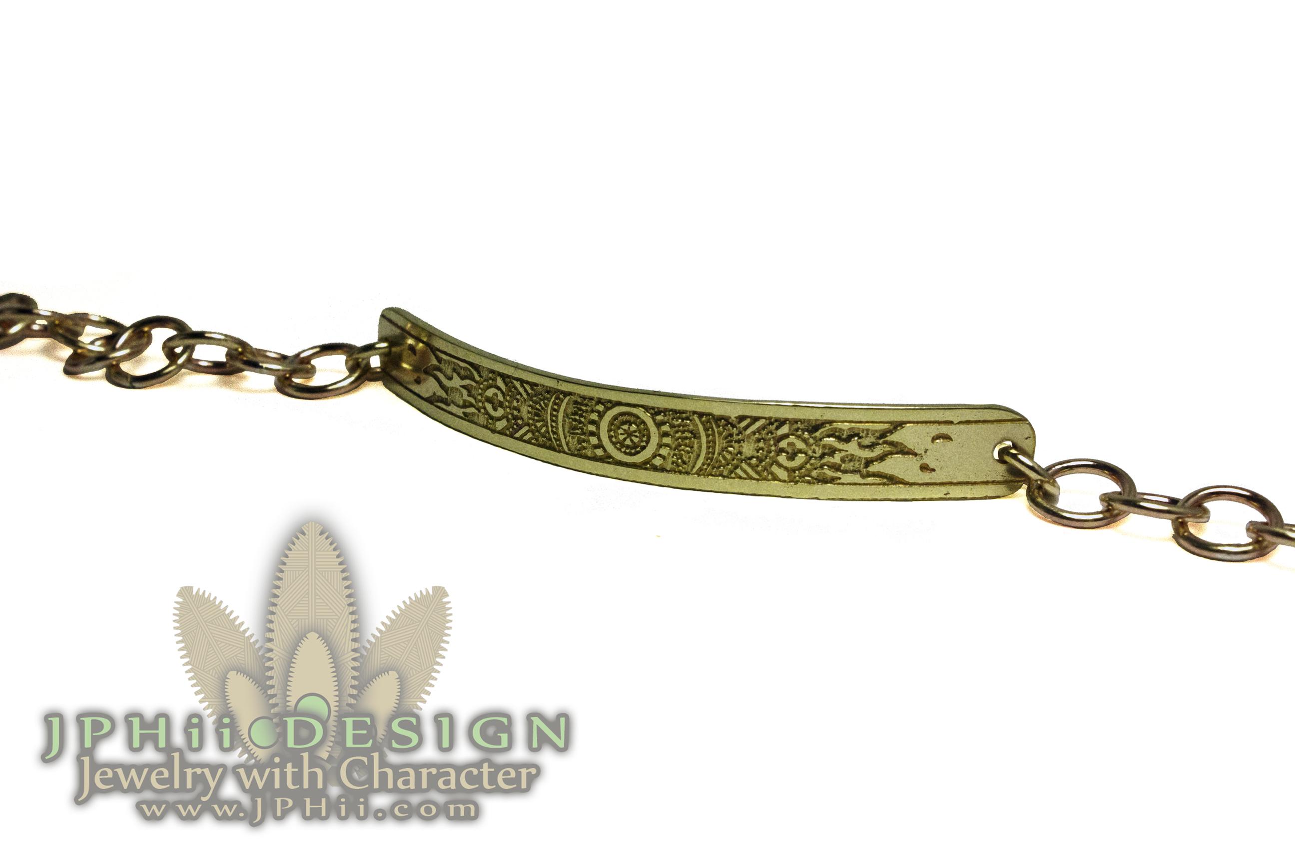 Ancient Chain Fire Bracelet