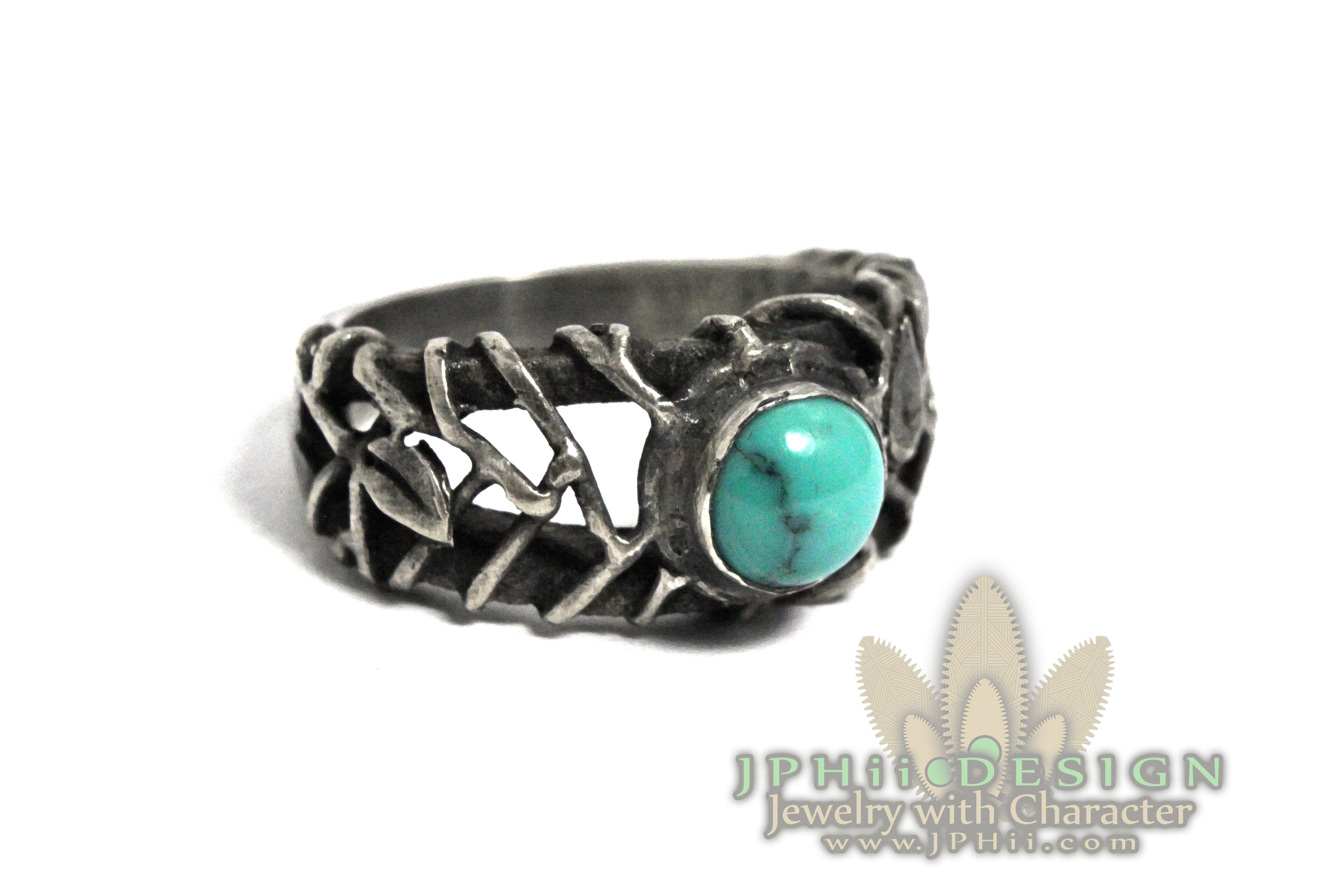 Turquoise Reclaimed Ring
