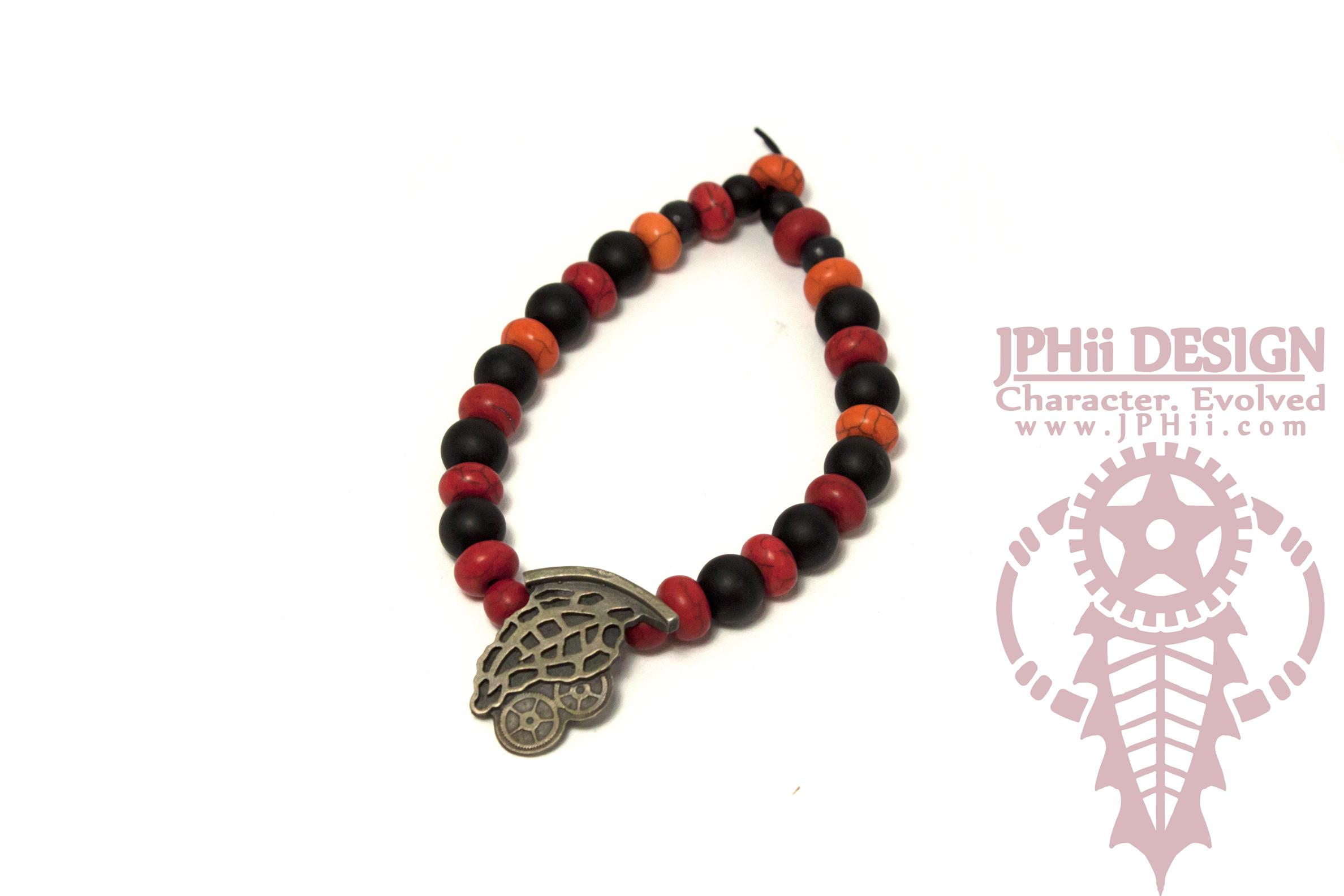 Fire Grape Bracelet