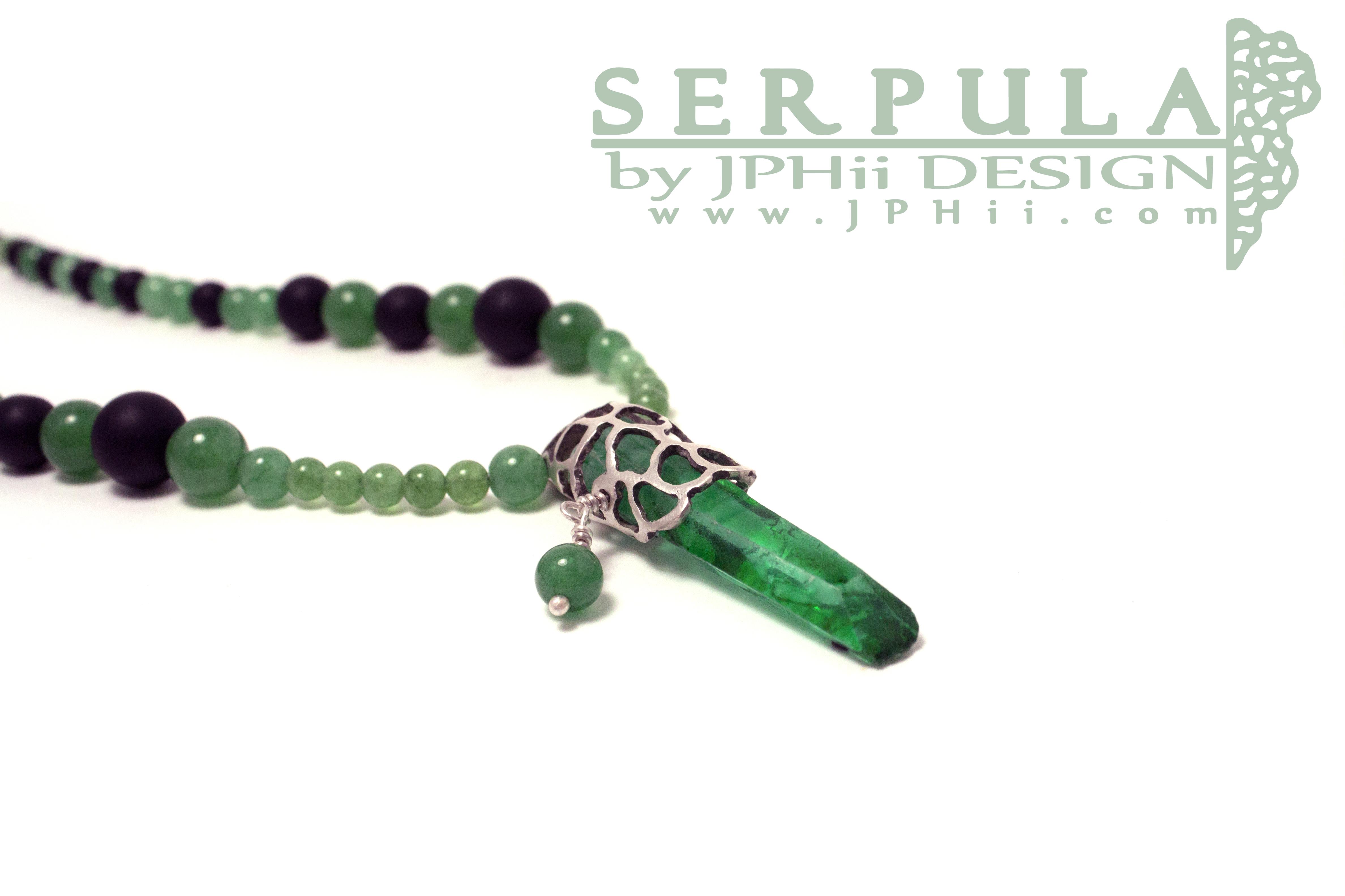 Green Serpula Necklace