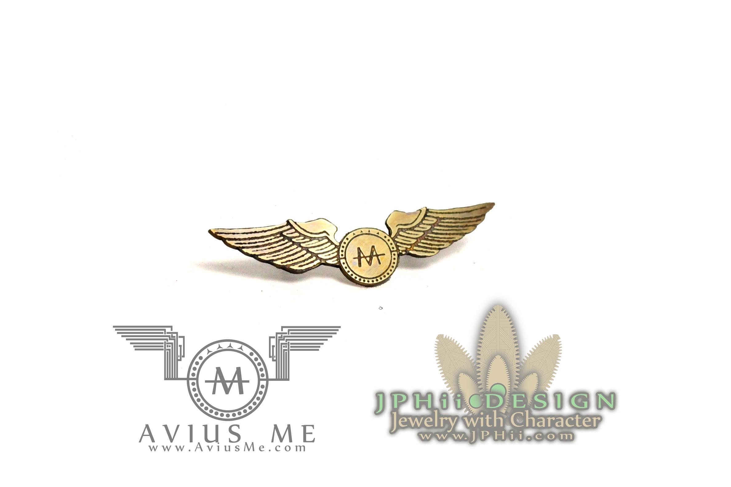 Avius Me Pilot Wings