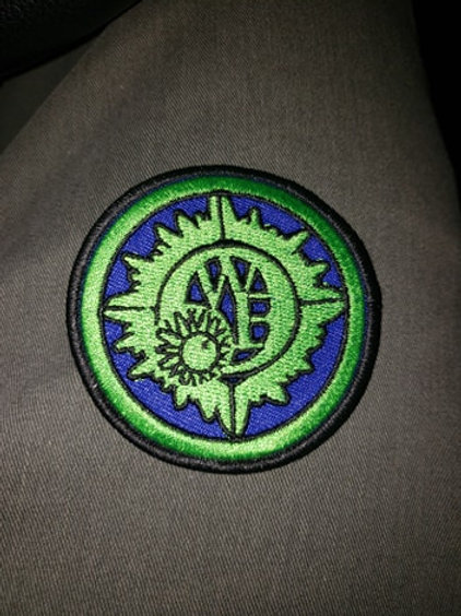 OWE Logo Embroidered Patch