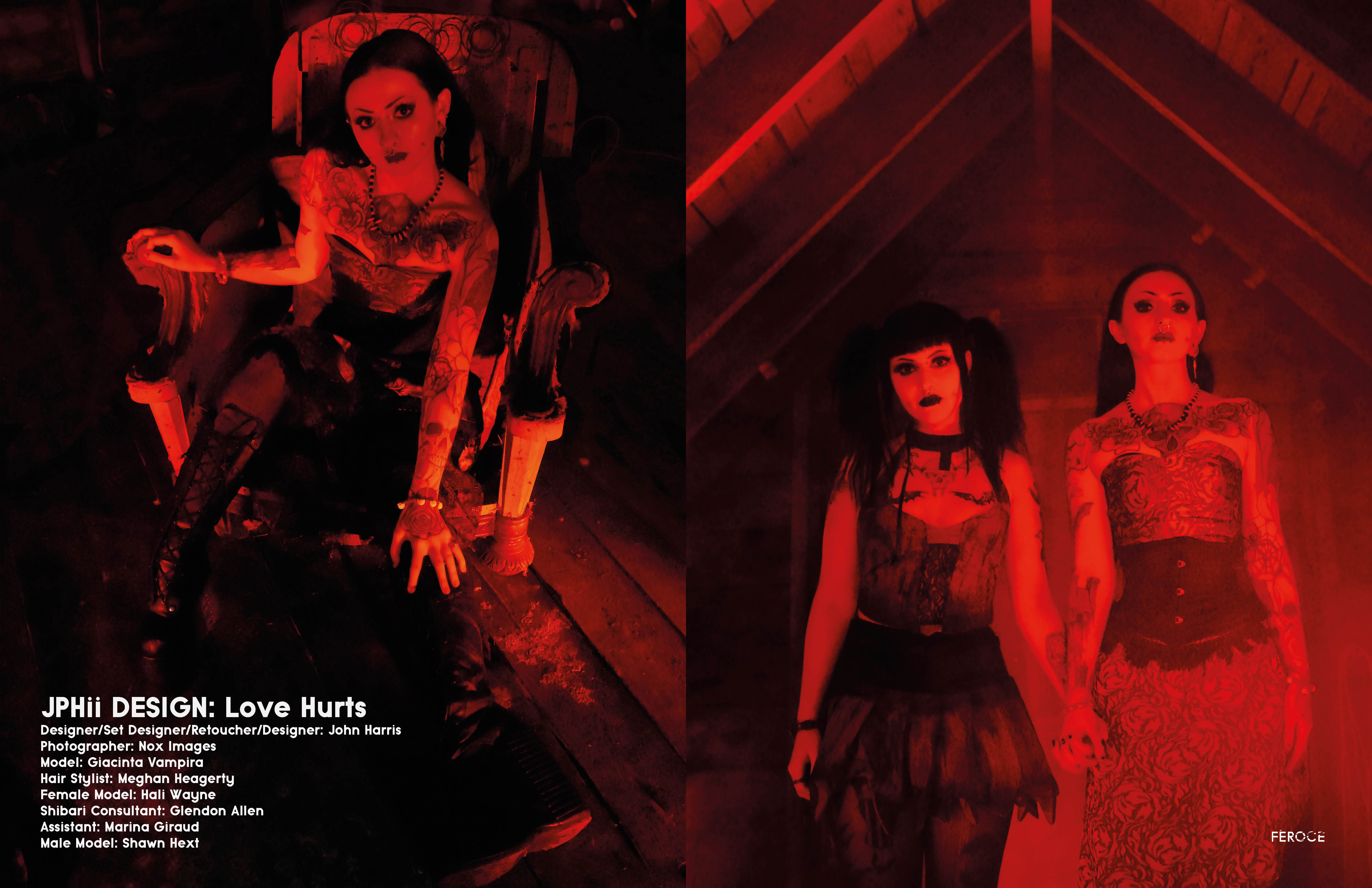 Love Hurts in Feroce Magazine