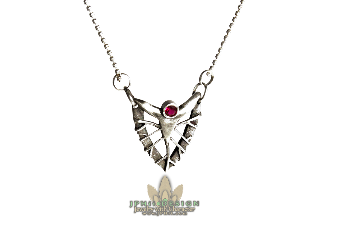 Reclaimed Blood Necklace