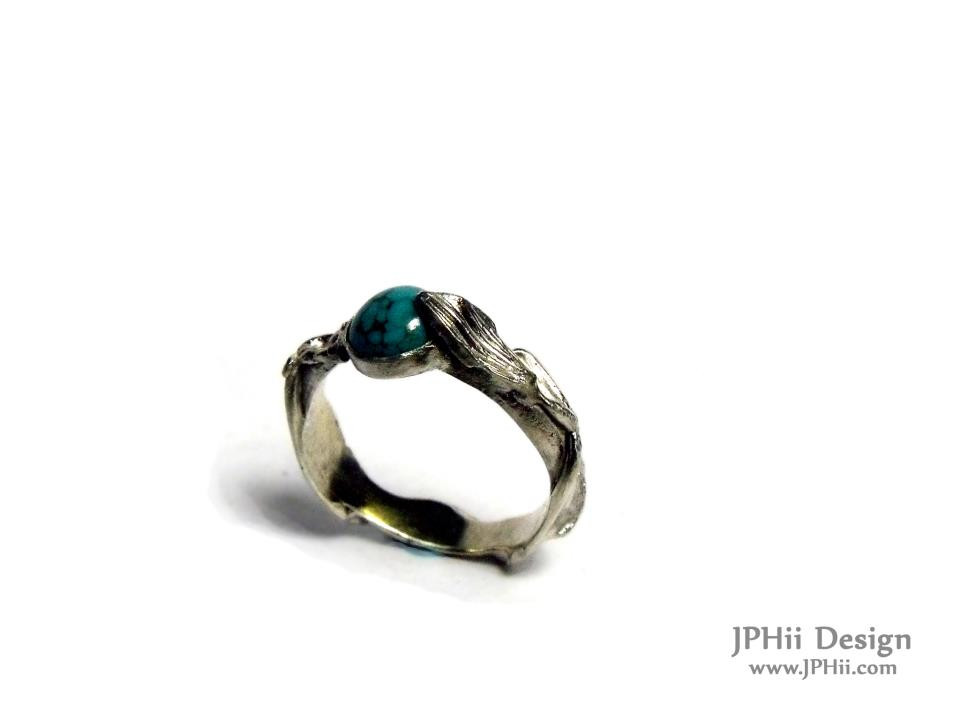 Turquoise Vine Ring
