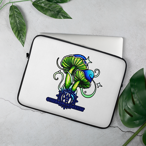 Otherworldly Mushroom Laptop Sleeve