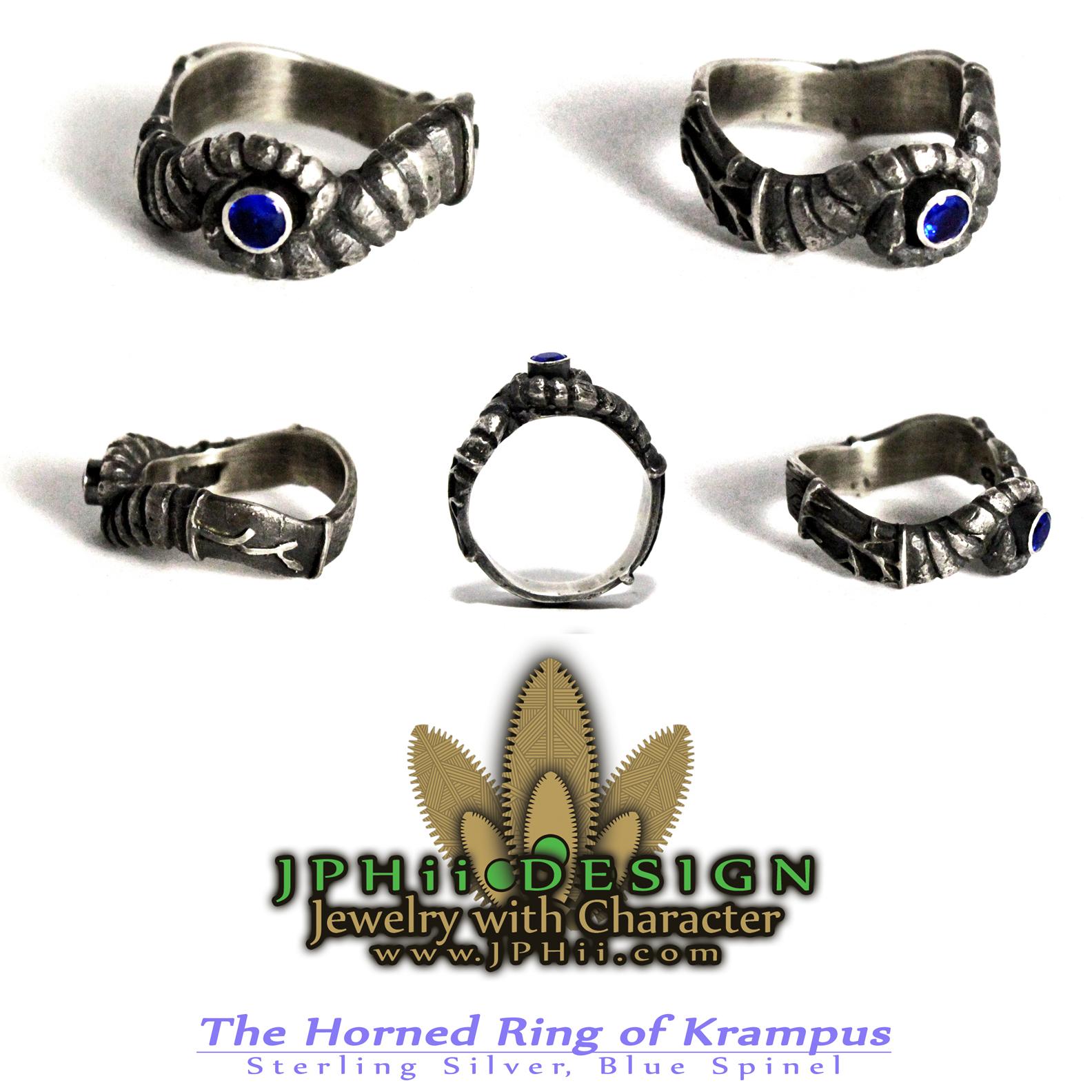Horned Ring of Krampus