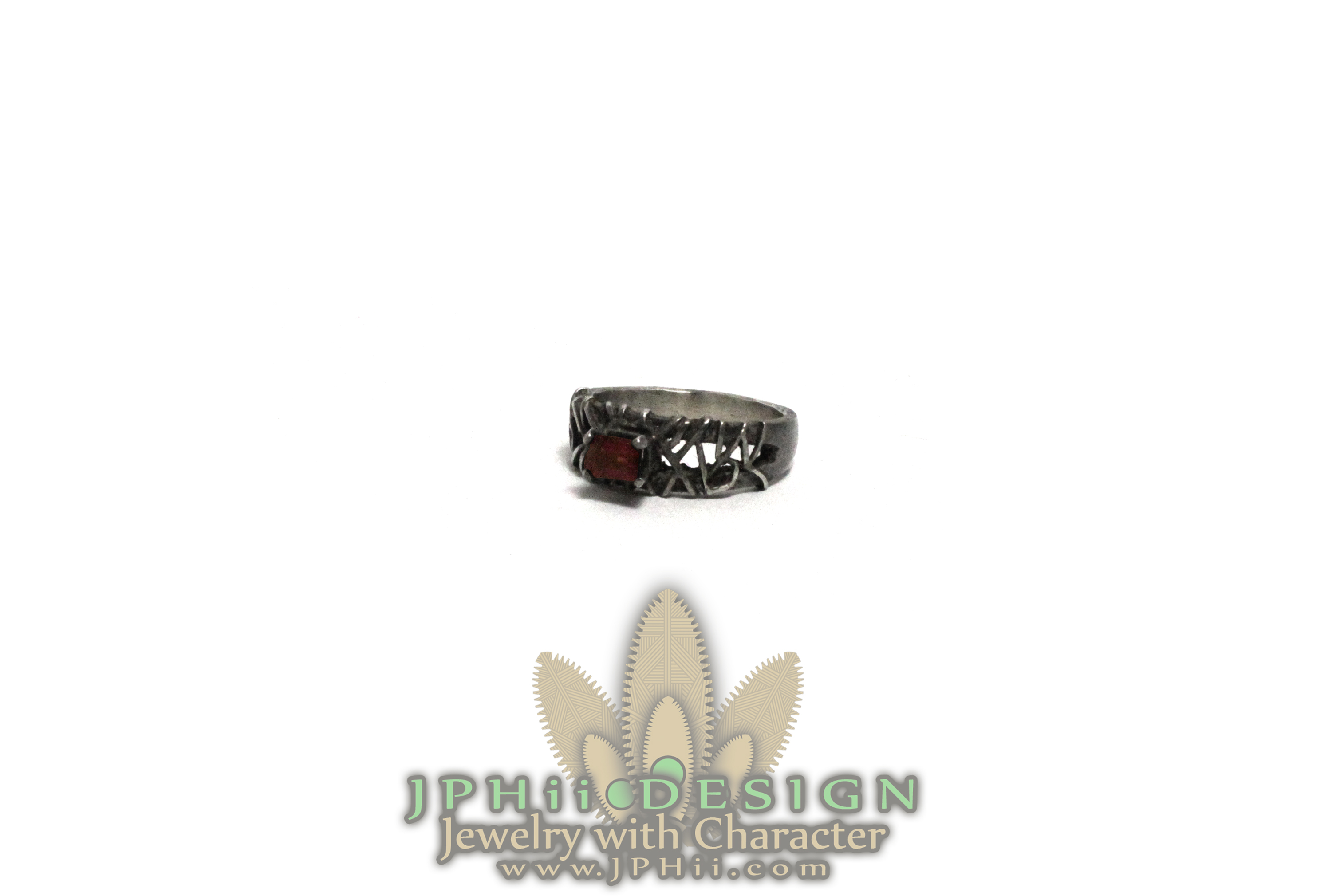 Red Reclaimed Ring