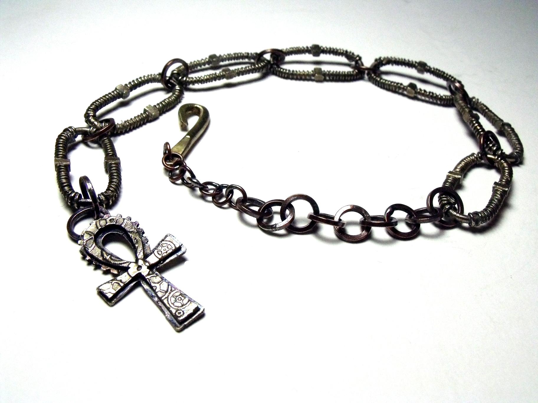 Ankh Prayer Chain