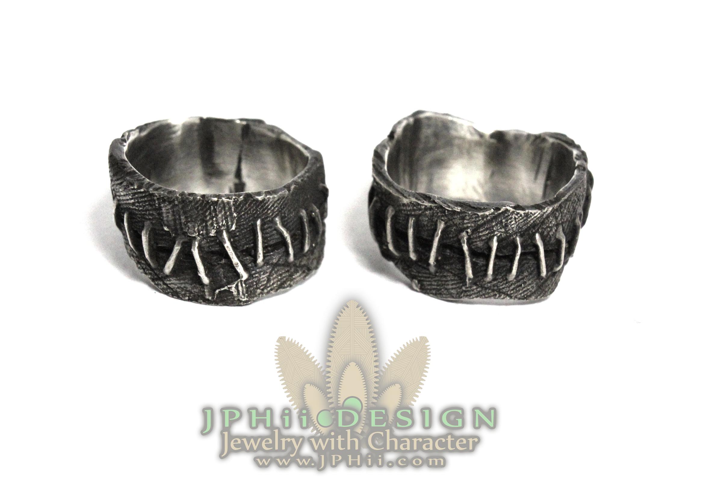 German Frankenstein Flesh Ring