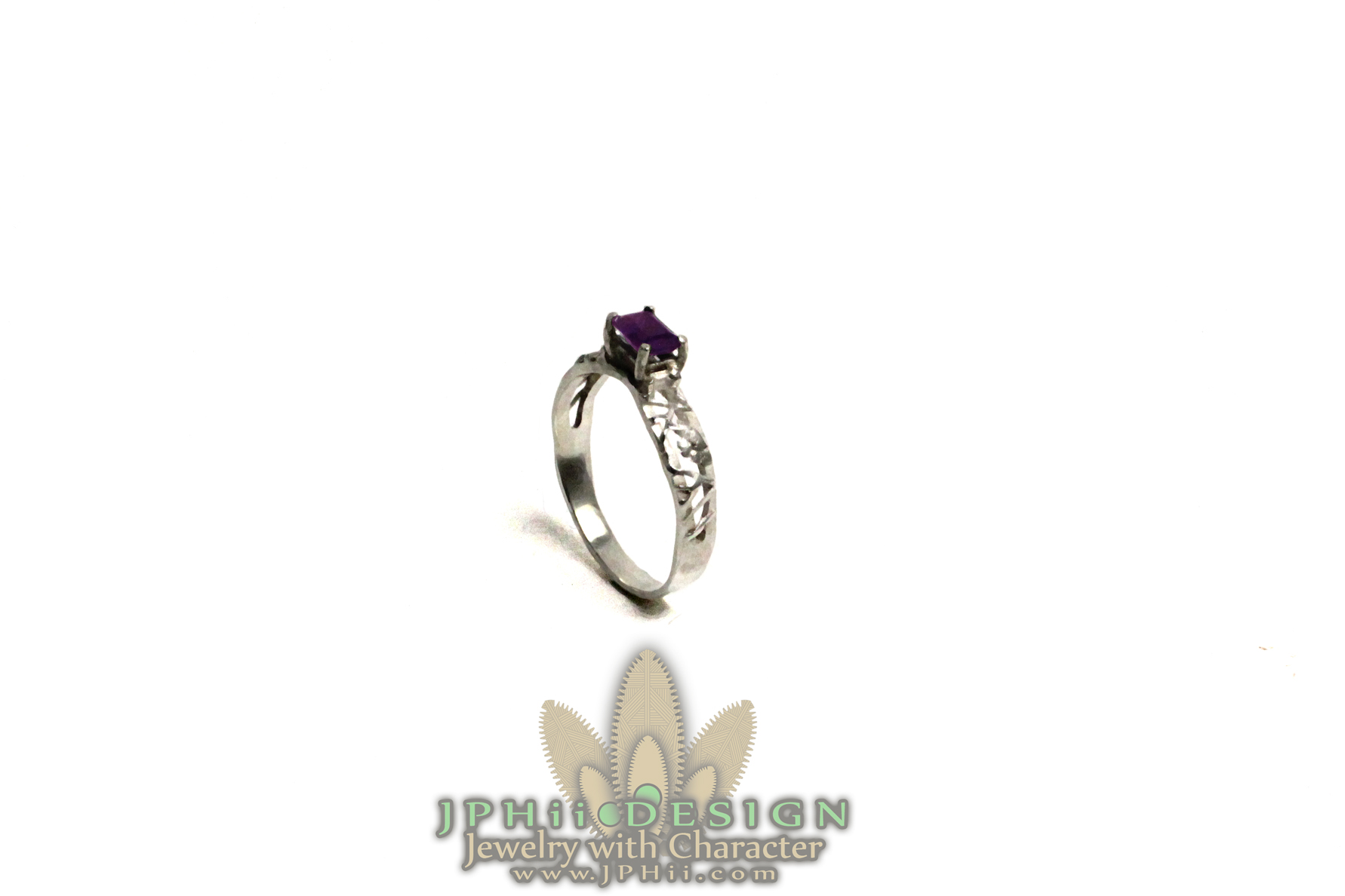 Purple Vine Ring