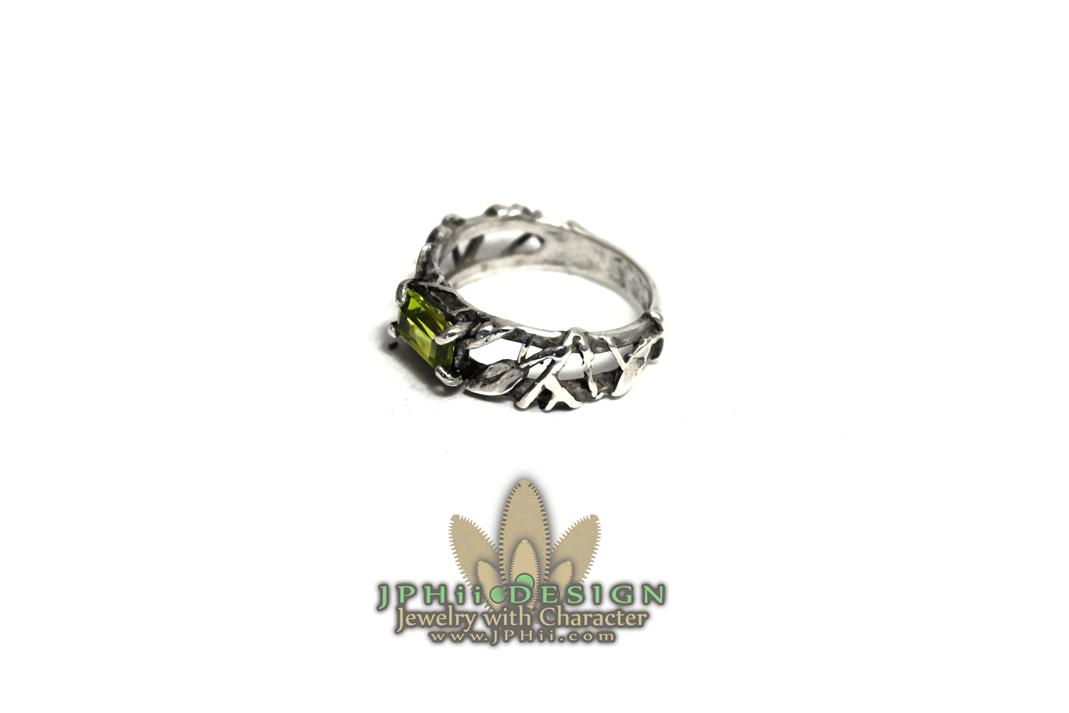 Peridot Reclaimed Ring