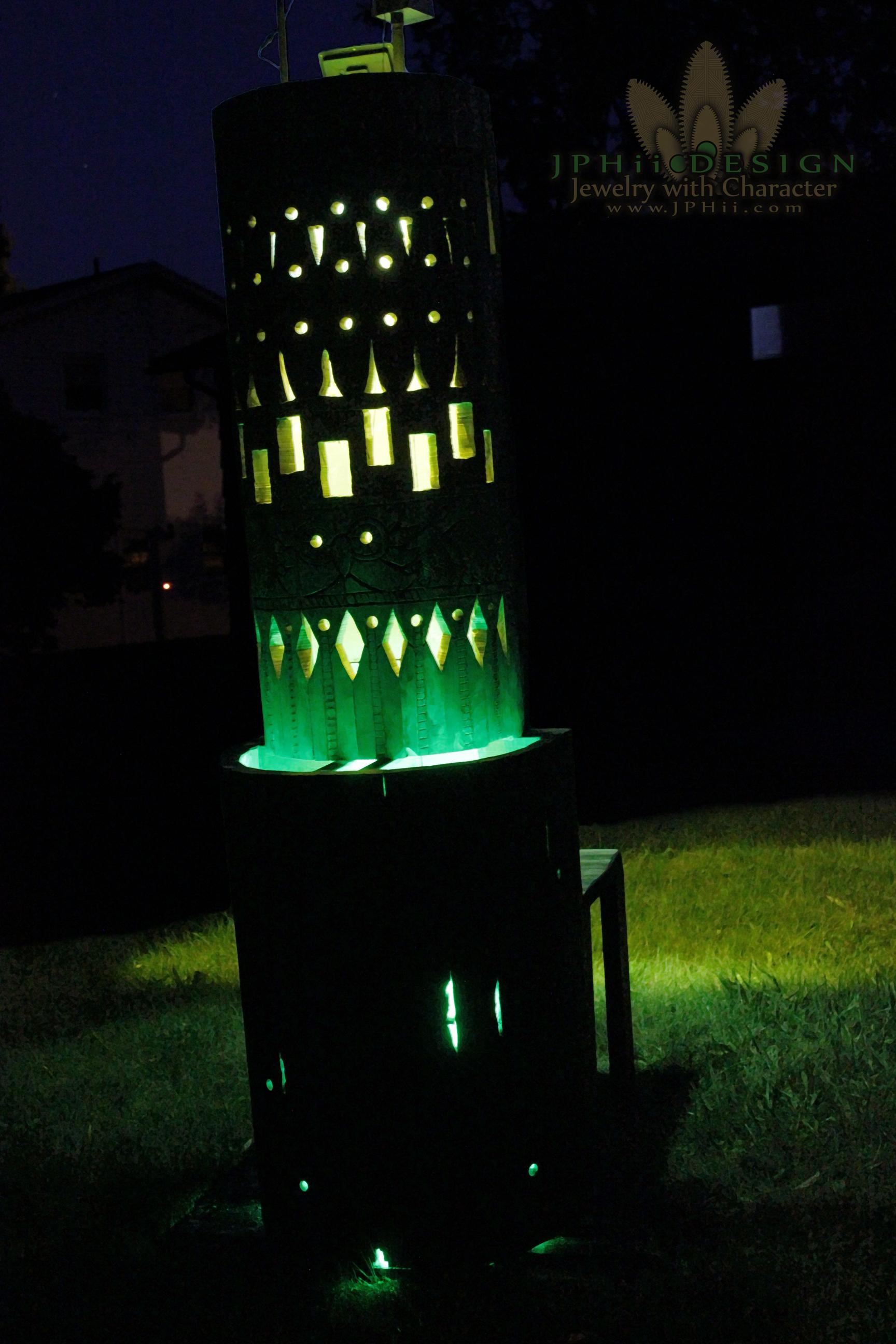 Green Earth Throne