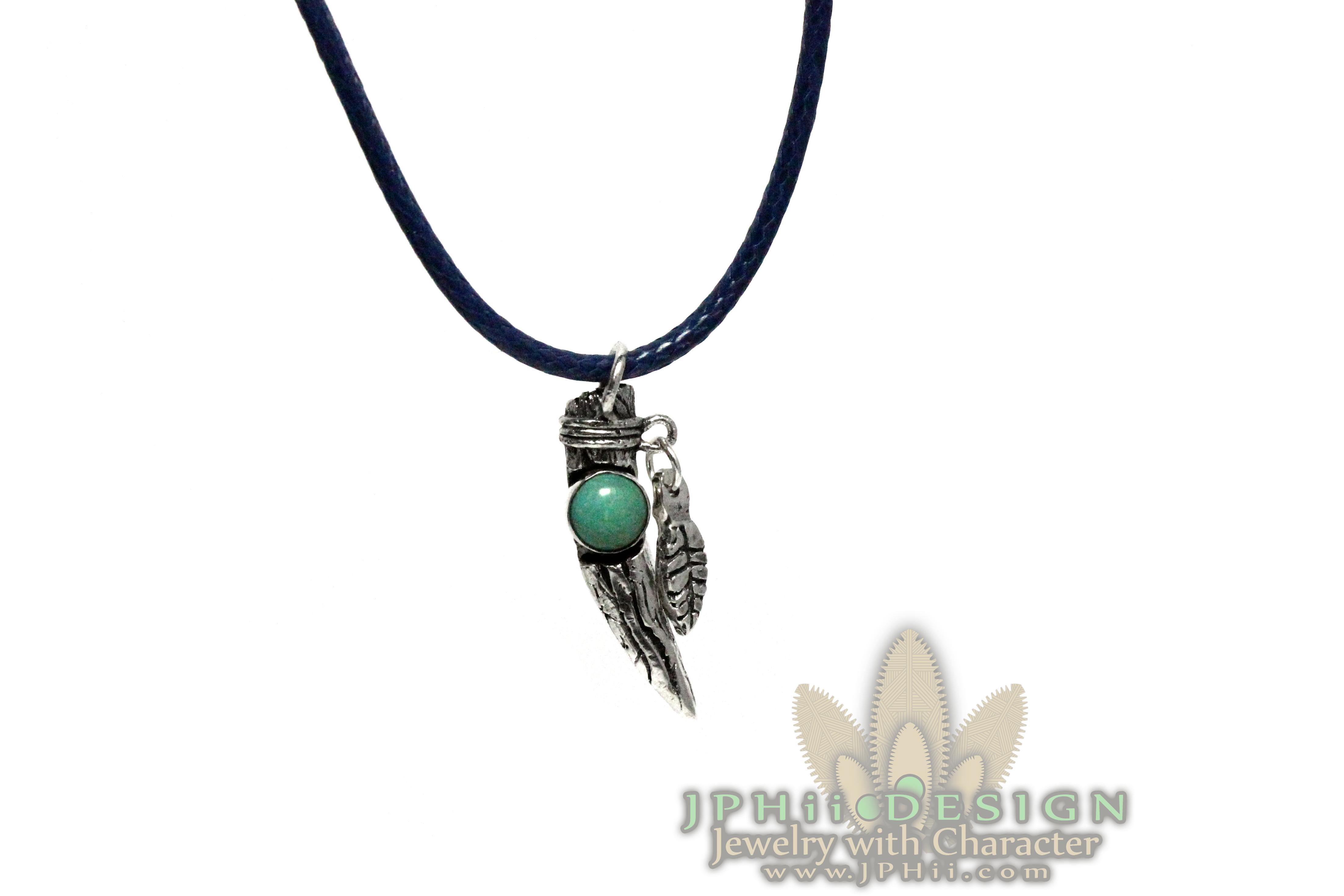 Turquoise Tree Totem