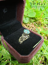 Veridian Engagement Ring
