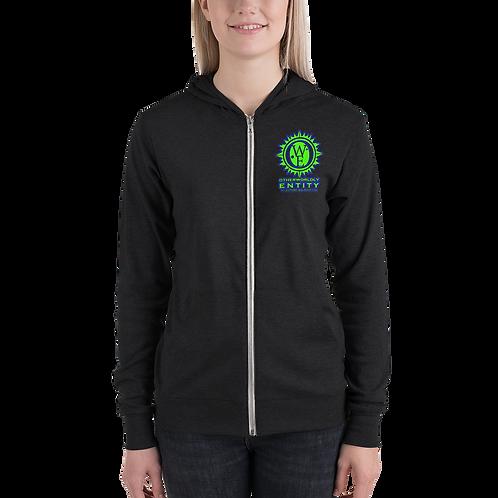 Otherworldly Mushroom zip hoodie