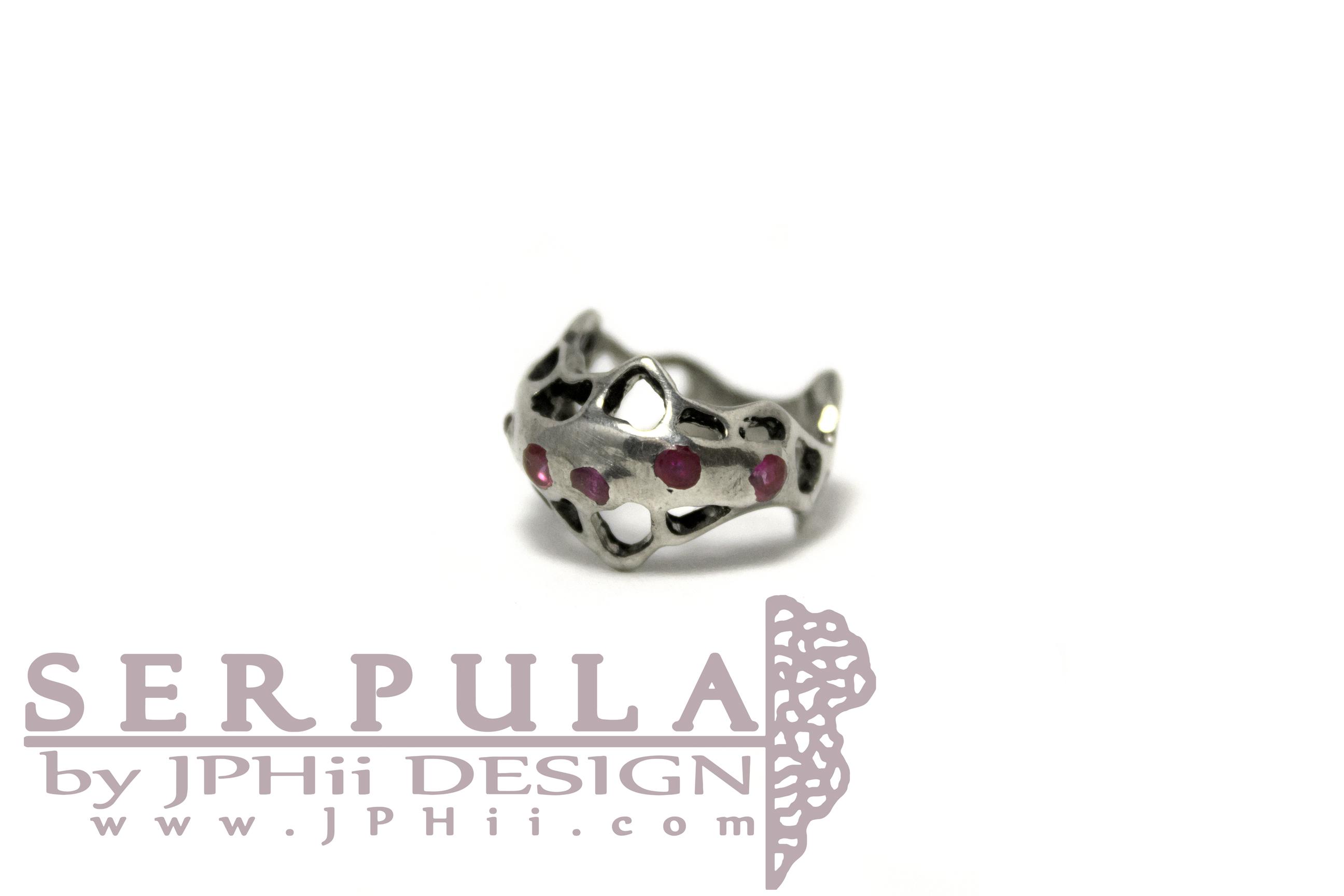 Pink Serpula Ring