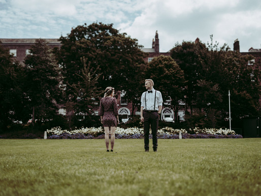 Merrion Square Park Wedding Anniversary Photo Shoot
