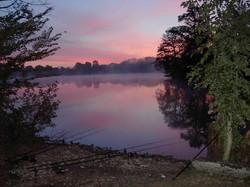 Sunset carp venue