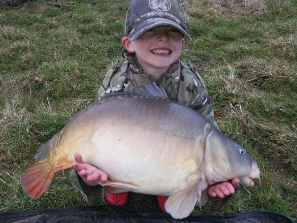 Lewis catching carp