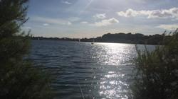 Scenic lake