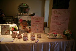 Welcome Table Pink