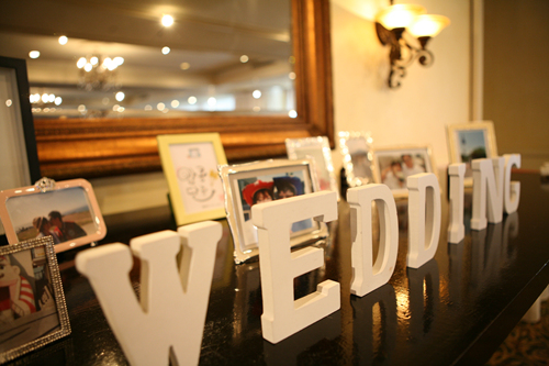 Photo Table Wedding
