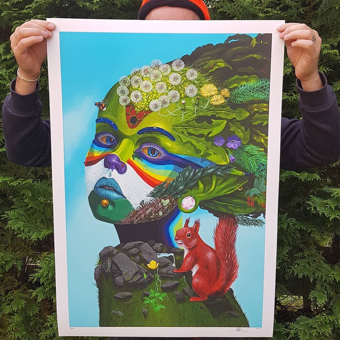 Daughter of Nature Print