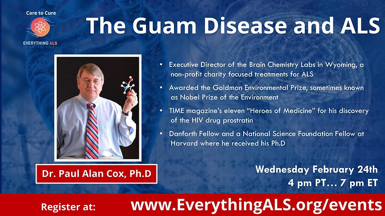 The Guam Disease and ALS