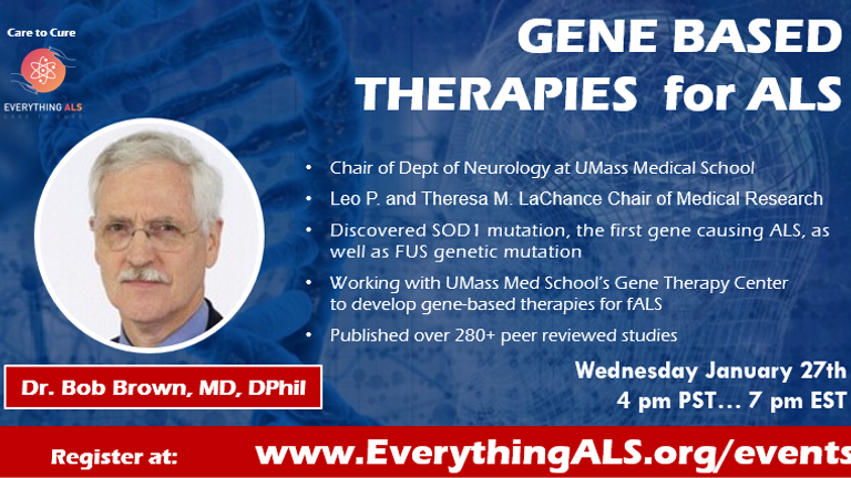 Gene Based Therapies for ALS