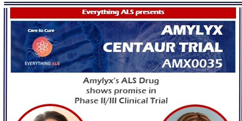 Amylyx Centaur AMX0035 Trial Results