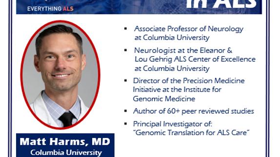Genomics and the Genetics of ALS