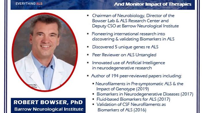 Biomarkers in ALS