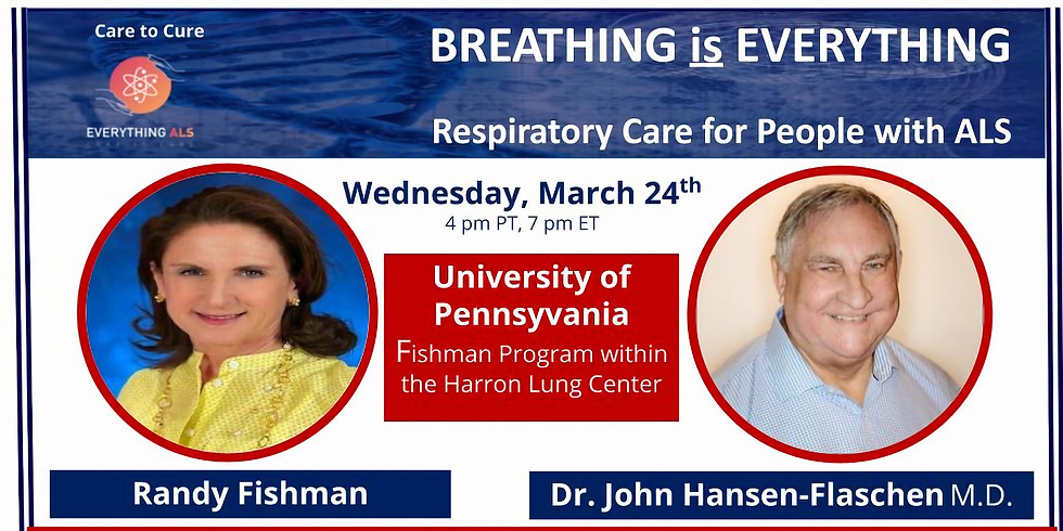 Breathing is Everything: Respiratory care for people with ALS
