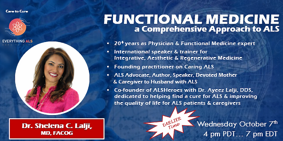 A Comprehensive Functional Medicine Approach to ALS