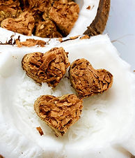 Crafted Coconut Horse Hearts