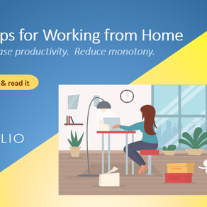 Working From Home: 5 Tips for Ultimate Productivity& Less Monotony. Minimize the Blur.