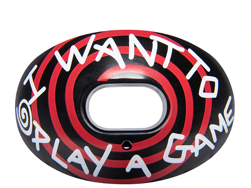 "Battle ""Want To Play A Game"" Oxygen Mouthguard"