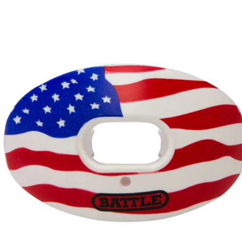 "Battle ""American Flag"" Oxygen Mouthguard"