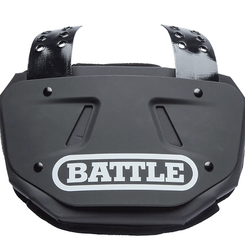 Battle Black Back Plate - Adult