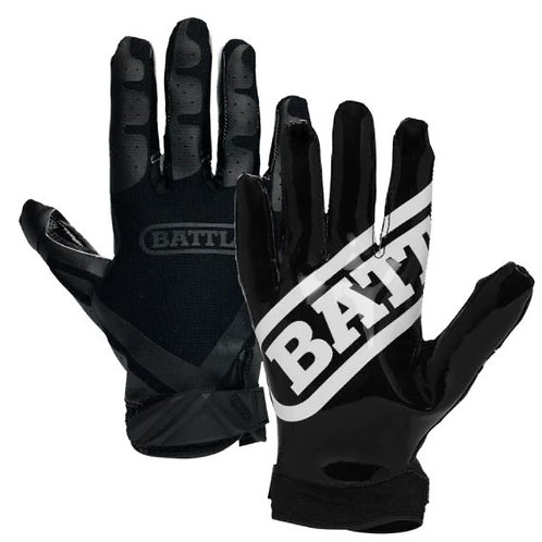 Battle Double Threat Football Receiver Gloves- Youth
