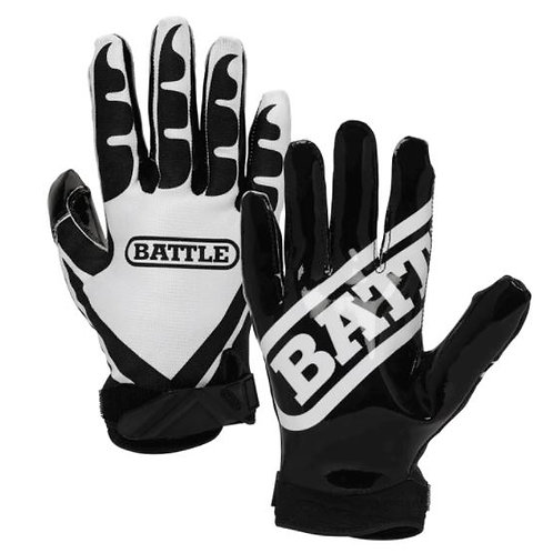 Battle Ultra-Sticky Football Receiver Gloves- Adult