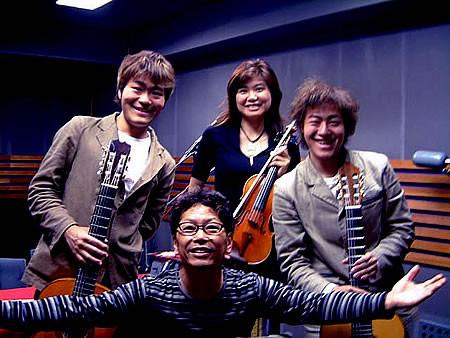 2003/04/28: 南こうせつ氏ラジオ番組 「週末はログハウスで」出演
