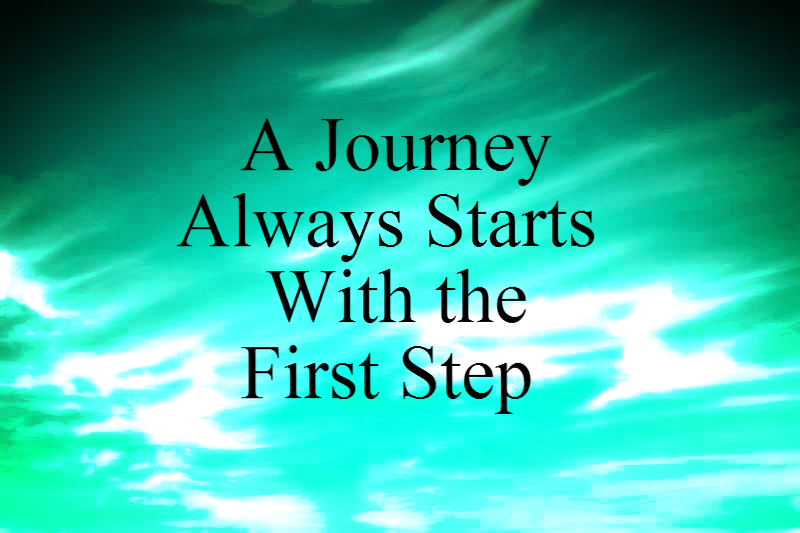 A Journey Always Starts